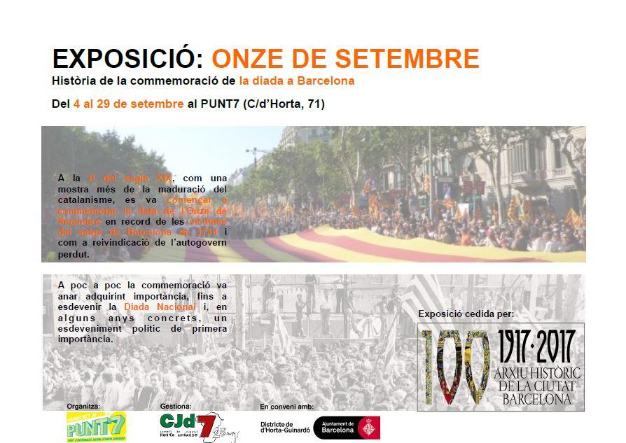 Exposició 11 setembre